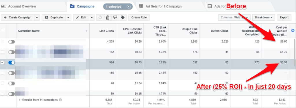 how to run facebook ads for clients - case study example